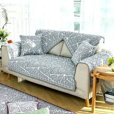 grey twill sofa slipcover grey slipcover collection twill form fit furniture protector slip