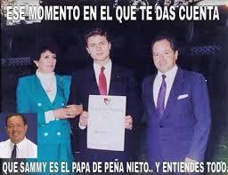 Memes De Sammy - das pena nieto enrique peña nieto hijo de sammy papá jajaja chiste