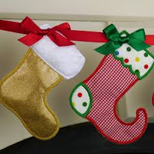 Stocking Designs by Christmas Stocking Banner Ith Project