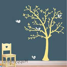 Nursery Tree Wall Decal Baby Nursery Tree Wall Sticker Tree Birds Wall Decal Room Diy