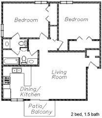 2 bedroom 1 bath floor plans fairlane apartments
