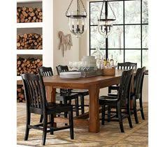 pottery barn farm dining table steel x base table pine local garages shop local and farmhouse