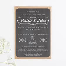 chalkboard wedding invitations chalkboard wedding invitations by norma dorothy