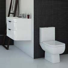 Modern Vanity Units For Bathroom by Monza Vanity Unit U0026 Modern Toilet Package Victorian Plumbing Co Uk