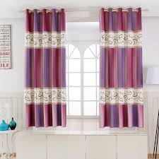 Short Curtains For Living Room by Single Panel Modern Window Curtains For Kitchen Living Room