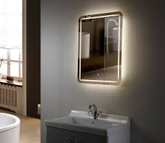Bathroom Sink Mirrors Led Electric Bathroom Mirrors Chrome Vs Stainless Steel Faucet