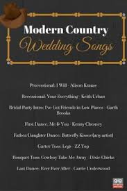 top 60 country songs to play at your wedding song
