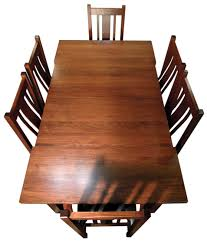 rectangle leg dining room table and chairs amish furniture