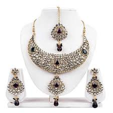 silver necklace sets images Stylish silver necklace set at rs 4000 no s silver necklace jpg