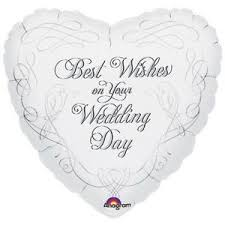 best wishes for wedding best wishes on your wedding day celebration anagram foil balloon