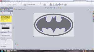 convert picture to sketch solidworks youtube