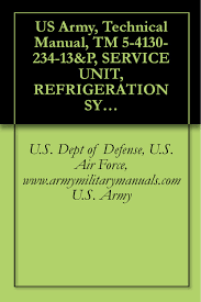 buy us army technical manual tm 9 4110 255 24p refrigeration