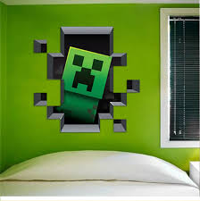 latest minecraft wall stickers u2013
