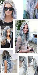 Grey Human Hair Extensions by 1 Bundle 8a Granny Silver Gray Ombre Brazilian Virgin Remy Hair