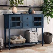 buffet sideboard cabinet storage kitchen hallway table industrial rustic p purlove console table buffet table sideboard cabinet table rustic buffet cabinet with two storage drawers two cabinets and bottom shelf for living