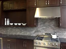 what backsplash looks with cherry cabinets color forte modern kitchen with cherry cabinets marble