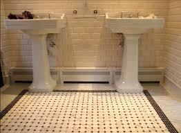 Subway Tile Small Bathroom Tiles Bathroom Floor Tile Designs For Small Bathrooms Retro Tile