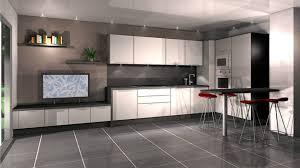 cuisine blanche sol noir cuisine blanche sol gris 16 aran blanc brillant lzzy co