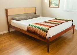 vintage mid century modern bedroom furniture special mid century modern platform bed editeestrela design