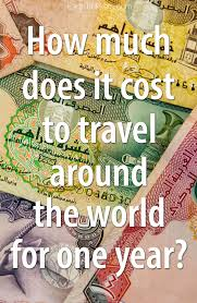 how much does it cost to travel the world images How much does it cost to travel around the world earth trekkers jpg