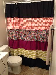 Lush Decor Ruffle Shower Curtain by 10 Lively Ruffled Shower Curtain Designs Rilane