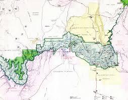 grand arizona deailed map
