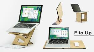 flio up the 1st laptop stand workstation on the go by vlad