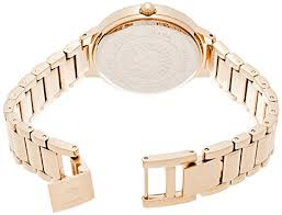 anne klein bracelet gold images Anne klein women 39 s ak 1498mprg swarovski crystal accented rose jpg