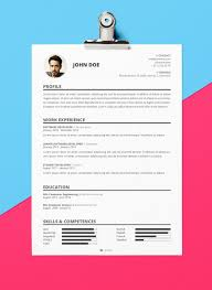 Free Creative Resume Template Psd 40 Free Creative Resume Templates For Job Seekers