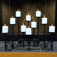 candelabra 10 candle imperial fireplace candelabra northline
