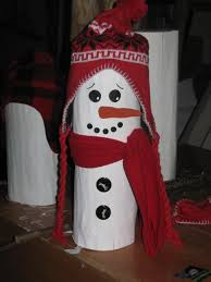snowman i made from a log hats from tree ideas 4 buttons