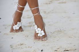wedding barefoot sandals editor s barefoot sandals for a wedding stylecaster