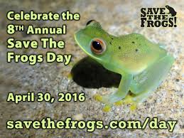 save the frogs events