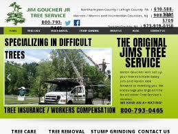 jim goucher jr tree service mount bethel pa