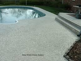 concrete overlay pool yard pinterest decking concrete