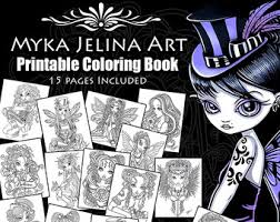 coloring books etsy