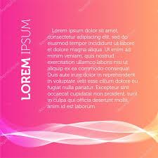 Pink Flat Color Pink Color Background Transparent Wavy Element Brochure Flyer