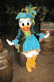 daisy duck at disneyland paris halloween party kennythepirate