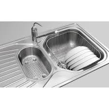 double drainer kitchen sink euro single bowl double pleasing double drainer kitchen sink