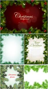 Christmas Tree Picture Frames Christmas Tree Frames Vector Vector Graphics Blog