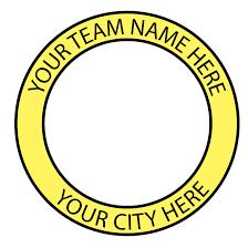 team badge vector template download at vectorportal clip art