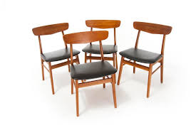 Modern Danish Furniture by Danish Modern Dining Chairs Danish Teak Classics