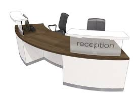 Reception Desk Curved Classic Curved Reception Desk 4 Front Sneddon