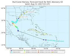 Hurricane Tracking Map Lsu Earth Scan Laboratory Harvey 2017 Atlantic Basin