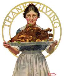 norman rockwell thanksgiving gif find on giphy