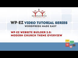 themes builder 2 0 introducing the modern church theme and 3 more church websites