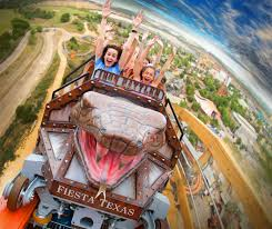 Six Flags Poltergeist 59 Make Yourself Sick Riding Every Six Flags Fiesta Texas Roller