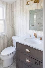 Brass Fixtures Bathroom Design Manifest Master Bathroom Cerused Oak Vanity Woods