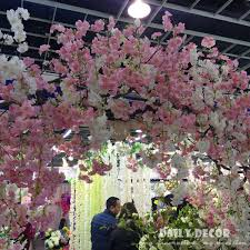 wedding arches supplies 152cm longer artificial cherry blossoms flowers wedding arch
