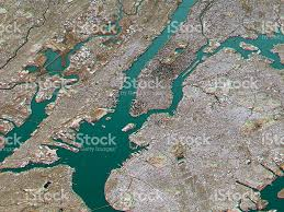 Usa Map New York City by New York City Topographic Map 3d Landscape View Natural Color